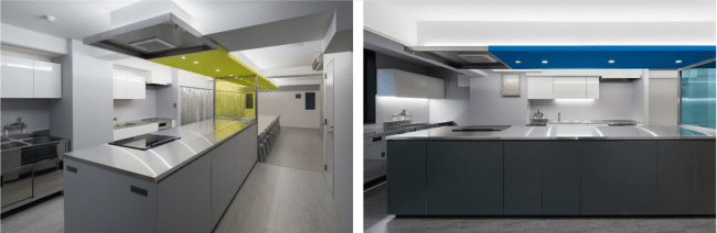 シェフズ アトリエの施設となるキッチンイメージ