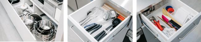 充実したキッチン用具を完備