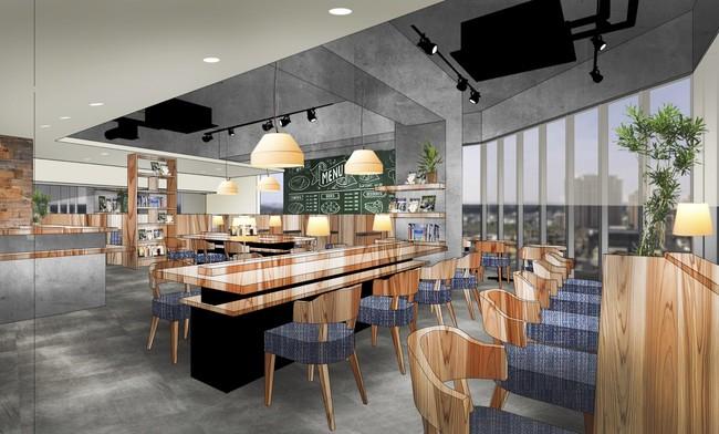 オープンカフェスペースイメージ