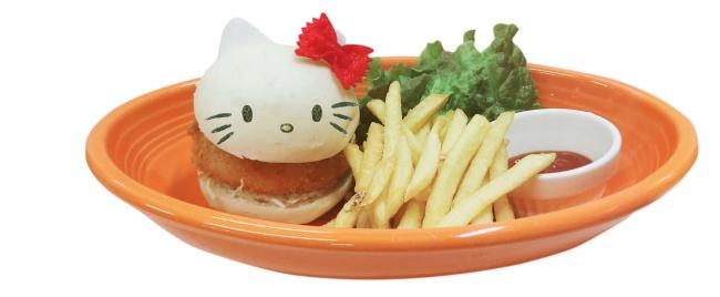 ハローキティのグラコロバーガー  ¥1,500