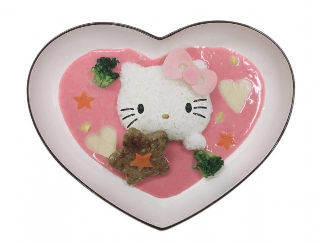 ハローキティのLovely♡ピンクカレー ¥1,500