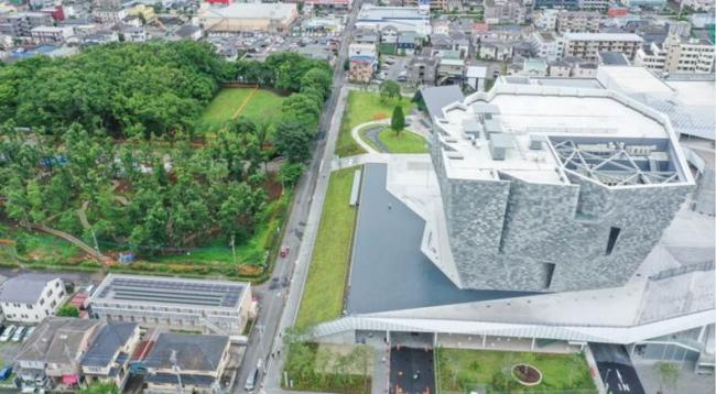 武蔵野樹林パーク&角川武蔵野ミュージアム 俯瞰図