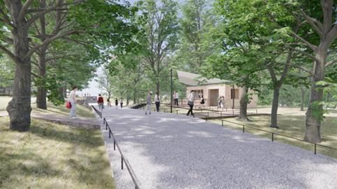武蔵野樹林パーク 園路